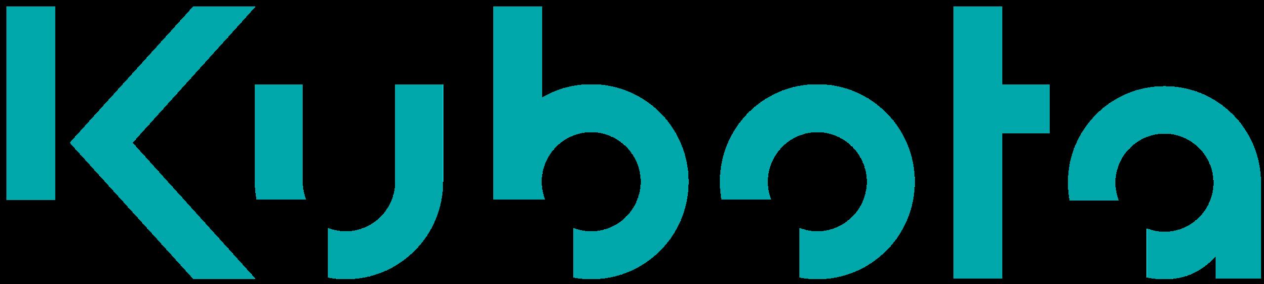 Logo for Kubota