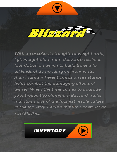 Blizzard Trailers Inventory