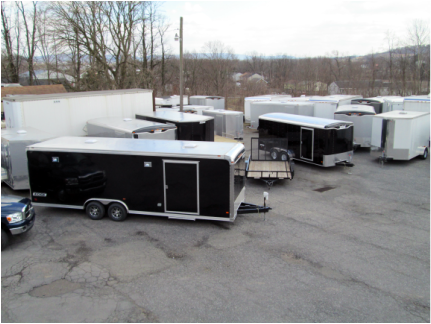 Trailers for sale at Gilver's Trailer Sales